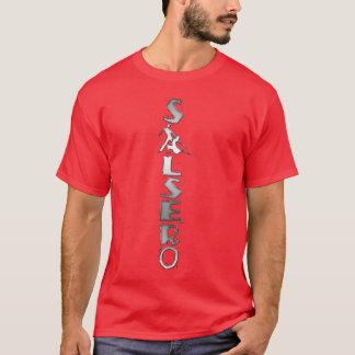 SALSERO t-shirt met dansend paar in plaats van A