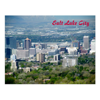 Salt Lake City Briefkaart
