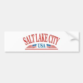 Salt Lake City Utah Bumpersticker