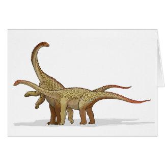 Saltasaurus - Krijtachtige Dinosaurus Kaart