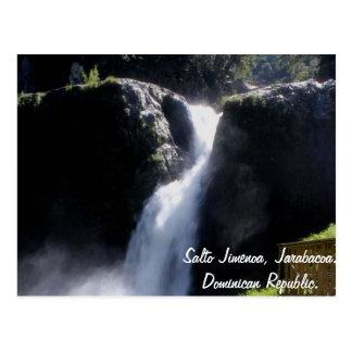 Salto Jimenoa, Jarabacoa Briefkaart
