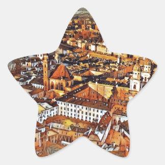 Salzburg in Art. Ster Sticker