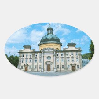 Salzburg Ovale Sticker