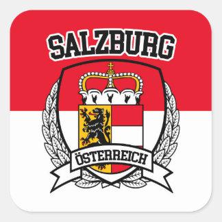 Salzburg Vierkante Sticker
