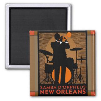 Samba D'Orpheus New Orleans Magneet