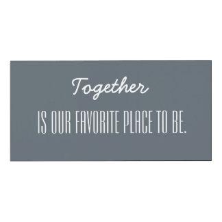 Samen is onze favoriete plaats om te zijn