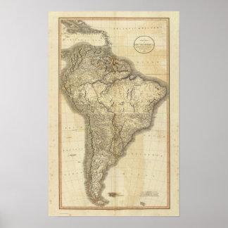 Samengesteld Zuid-Amerika 2 Poster