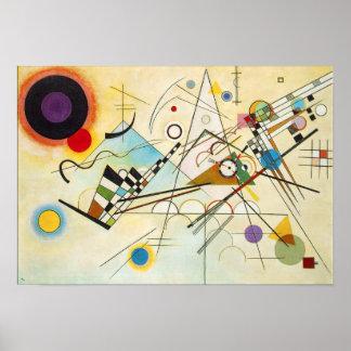 Samenstelling VIII van Kandinsky Poster