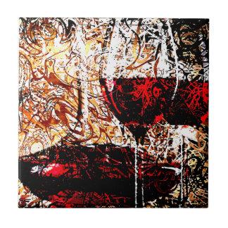 Samenvatting met Wijn Keramisch Tegeltje