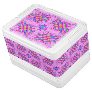 Samenvatting van het Patroon van de Caleidoscoop Igloo Koelbox