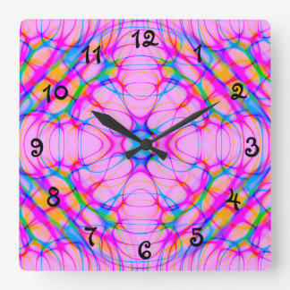 Samenvatting van het Patroon van de Caleidoscoop Vierkante Klok