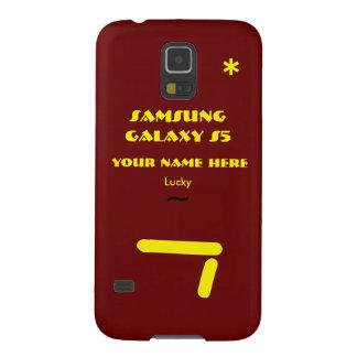 Samsung S5 past uw geval aan uw naam Galaxy S5 Hoesjes