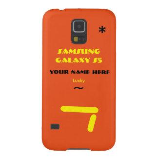 Samsung S5 past uw geval aan uw naam Galaxy S5 Covers