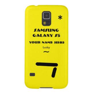 Samsung S5 past uw geval aan uw naam Galaxy S5 Hoezen