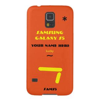 Samsung S5 past uw geval aan uw naam Galaxy S5 Hoes