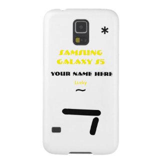 Samsung S5 past uw geval aan uw naam Hoesje Voor Galaxy S5