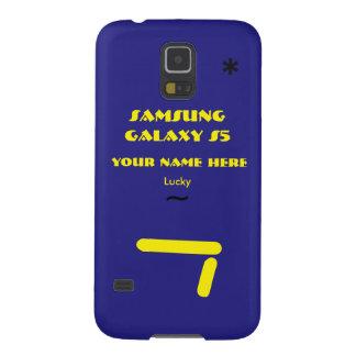 Samsung S5 past uw geval aan uw naam Hoesjes Voor Galaxy S5