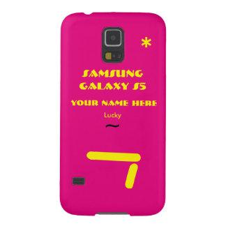 Samsung S5 past uw hoesje aan uw naam Galaxy S5 Hoesje