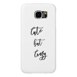 Samsung S6 Galaxy, Cute drinken Crazy quote Samsung Galaxy S6 Hoesje