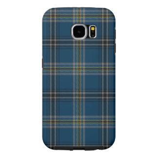 Samsung S6 Galaxy Geruite Schotse wollen stof Samsung Galaxy S6 Hoesje