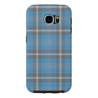 Samsung S6 Galaxy   Korenbloem 2 Geruite Schotse Samsung Galaxy S6 Hoesje