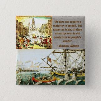 Samuel Adams Vierkante Button 5,1 Cm