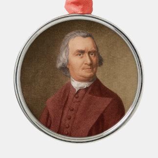 Samuel Adams Zilverkleurig Rond Ornament