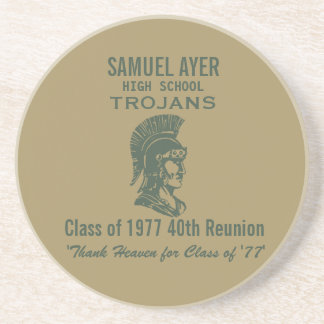 Samuel Ayer Class van 'het 40ste Memento van Zandsteen Onderzetter