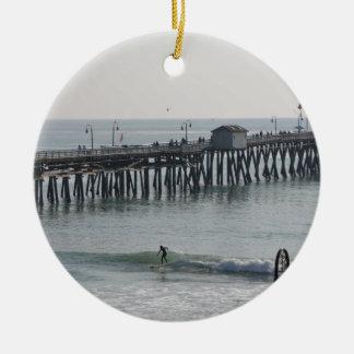 San Clemente Californië Rond Keramisch Ornament