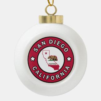 San Diego Californië Keramische Bal Ornament