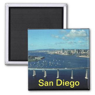 San Diego koelkastmagneet Vierkante Magneet
