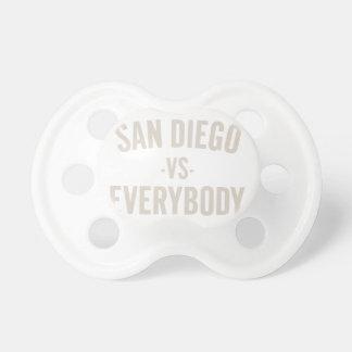 San Diego versus iedereen Fopspeen