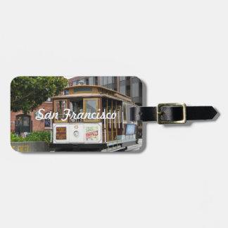 San Francisco Bagagelabel