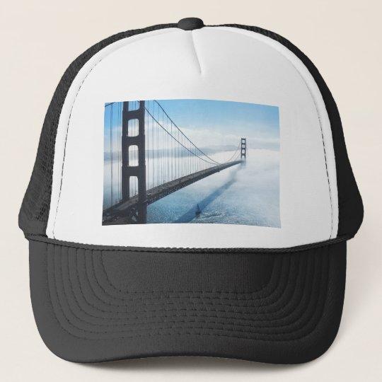 san francisco bridge trucker pet