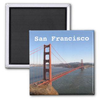 San Francisco CA, de koelkastmagneet van Golden Magneet