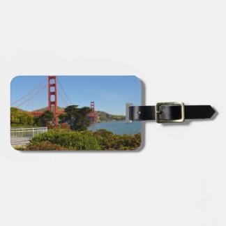 San Francisco Golden gate bridge in Californië Kofferlabels