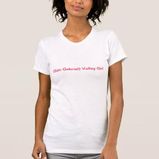 (San Gabriel) het Meisje van de Vallei Tshirts