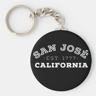 San Jose Californië Sleutelhanger
