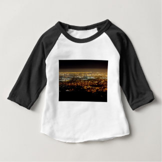 San Jose Night Skyline Baby T Shirts