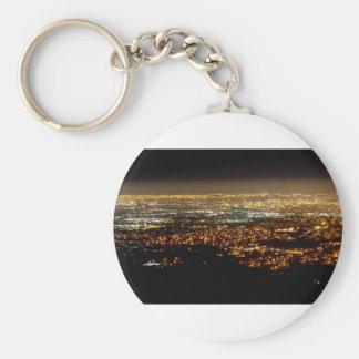 San Jose Night Skyline Sleutelhanger