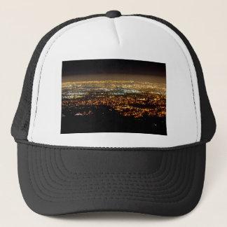 San Jose Night Skyline Trucker Pet