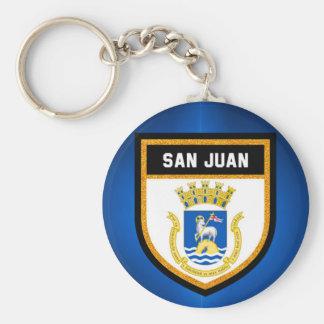 San Juan Flag Sleutelhanger