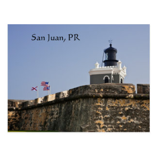 San Juan Lighthouse Postcard Briefkaart