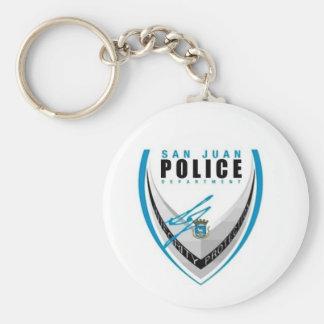 San Juan Police Sleutelhanger