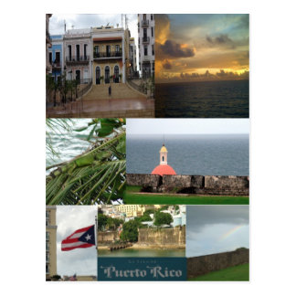 San Juan, Puerto Rico Briefkaart