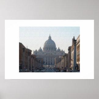 San Pietro (Rome) Poster
