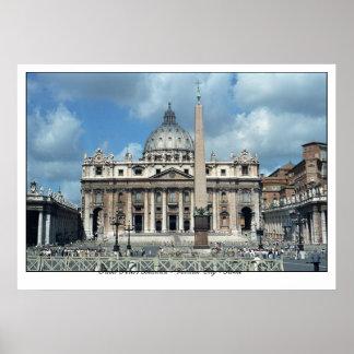 San Pietro - ROME Poster