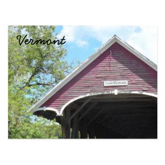 Sanborn Behandelde Brug Vermont Briefkaart