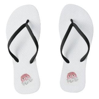 Sandals van de Vrouwen van de Kam van kwallen Teenslippers