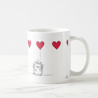 Sandra Boynton LOVE YOU CAT Koffiemok